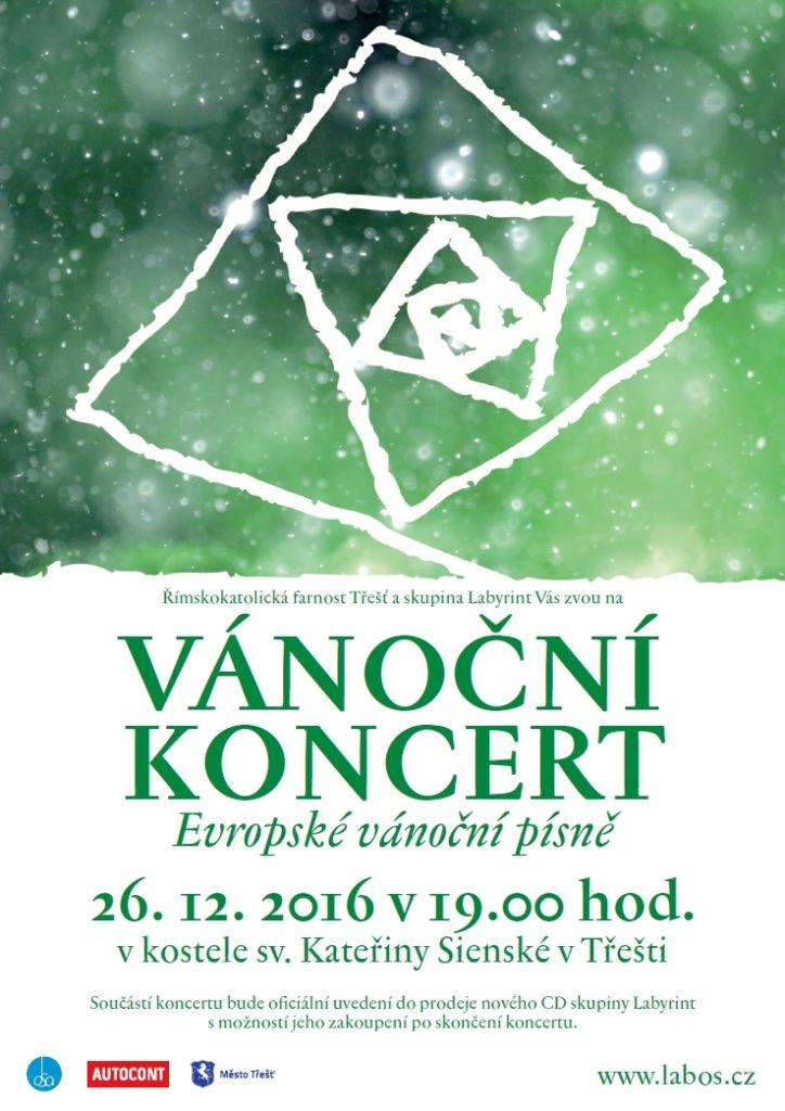 Vánoční koncert - Evropské vánoční písně v kostele sv. Kateřiny Sienské