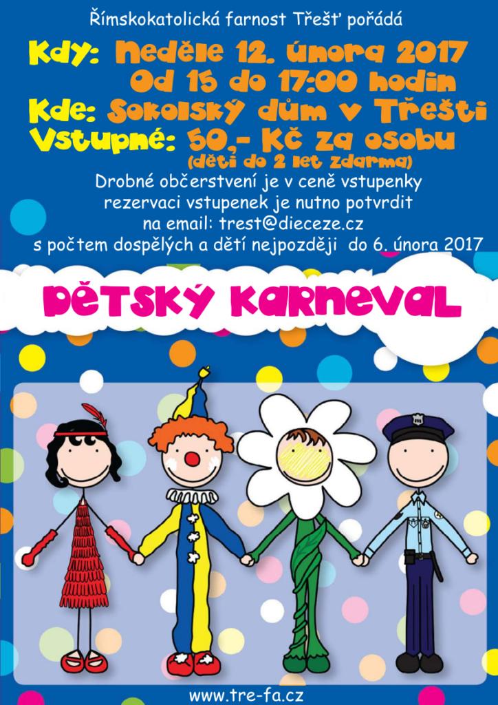 Dětský karneval v Sokolském domě