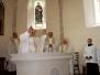 Kostelec - svěcení oltáře 13. 9. 2014