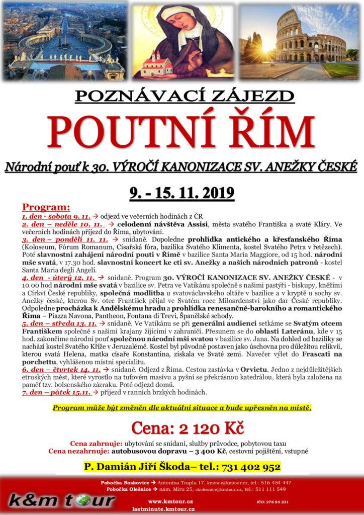 Národní pouť k 30. výročí kanonizace sv. Anežky České